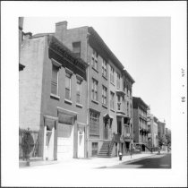 Image of [West side of Willow Street, looking north.] - John D. Morrell photographs