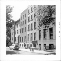 Image of [West side of Willow Street, looking south toward Pierrepont Street.] - John D. Morrell photographs