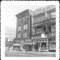 Image of [Southwest corner of Church Avenue and East 18th Street (at far left.)] - John D. Morrell photographs