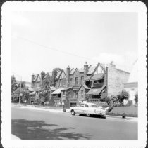 Image of [View of north side of 86th Street between 10th Avenue and 11th Avenue.] - John D. Morrell photographs