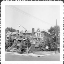 Image of [Northwest corner of 86th Street and 12th Avenue (at right).] - John D. Morrell photographs