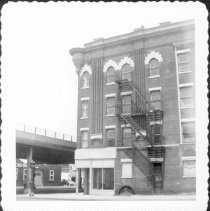 Image of [North side of 60th Street showing portion of expressway.] - John D. Morrell photographs