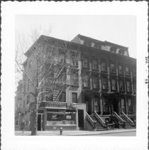 Image of [Southeast corner of DeKalb Avenue and South Elliot Place.] - John D. Morrell photographs