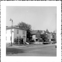 Image of [West side of Bay 16th Street looking northwest.] - John D. Morrell photographs