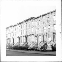 Image of [Portion of north side of Union Street.] - John D. Morrell photographs