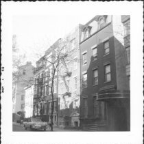 Image of [View of west side of Columbia Heights. ] - John D. Morrell photographs