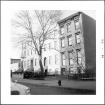 Image of [Northside of First Place between Court Street and Smith Street.] - John D. Morrell photographs