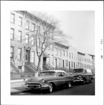 Image of [View of part of north side of Second Street between Smith Street and Hoyt Street.] - John D. Morrell photographs