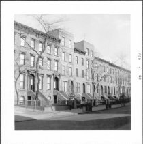 Image of [View of part of north side of President Street between Smith Street and Hoyt Street.] - John D. Morrell photographs