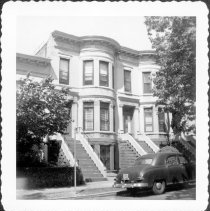 Image of [#231 (left) - 233 79th Street, Brooklyn, L.I. ] - John D. Morrell photographs