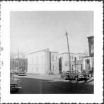 Image of [View of northeast side of East 98th Street.] - John D. Morrell photographs