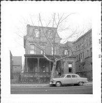 Image of [#499 Bedford Avenue - on east side of avenue between Clymer & Taylor Streets.] - John D. Morrell photographs