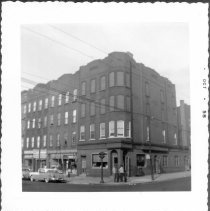 Image of [Northeast corner of Flushing Avenue and Bushwick Avenue.] - John D. Morrell photographs