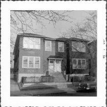 Image of [#315 (left) -319 62nd Street, Brooklyn, L.I.] - John D. Morrell photographs