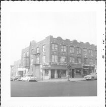 Image of [Northwest corner of 61st Street (left) and 4th Avenue, Brooklyn, L.I.] - John D. Morrell photographs