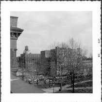 Image of [View from roof of Pratt Institute Library looking southeast, toward Ryerson Street.] - John D. Morrell photographs