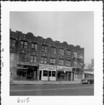 Image of [West side of 4th Avenue between 61st Street and 62nd Street, Brooklyn, L.I.] - John D. Morrell photographs