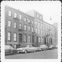 Image of [North side of Kane Street between Hicks Street and Henry Street.] - John D. Morrell photographs