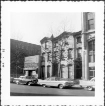 Image of [#140 Clinton Street (far right).] - John D. Morrell photographs