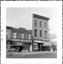 Image of [West side of Court Street.] - John D. Morrell photographs