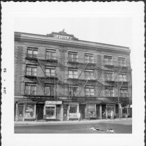Image of [West side of Court Street.] - John D. Morrell photographs
