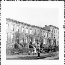 Image of [Northeast corner of Henry Street and Fourth Place.] - John D. Morrell photographs
