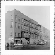Image of [West side of Henry Street looking north.] - John D. Morrell photographs