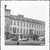 Image of [West side of Court Street as seen from Butler Street.] - John D. Morrell photographs