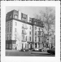 Image of [Northeast corner of President Street and Court Street.] - John D. Morrell photographs