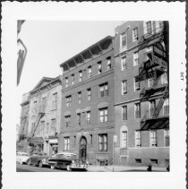 Image of [East side of Henry Street between Orange Street and Cranberry Street, looking north.] - John D. Morrell photographs