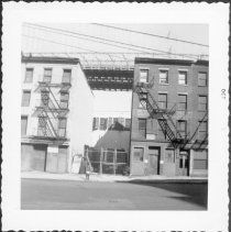 Image of [North side of lower Fulton Street.] - John D. Morrell photographs