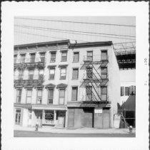 Image of [#5 Fulton Street (left).] - John D. Morrell photographs