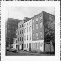 Image of [North side of Middagh Street.] - John D. Morrell photographs