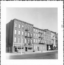 Image of [North side of Atlantic Avenue between Hicks Street and Columbia Street.] - John D. Morrell photographs