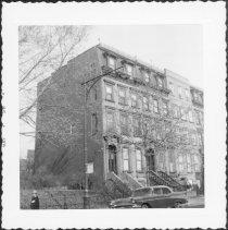 Image of [West side of Washington Avenue between Lafayette Avenue & DeKalb Avenue.] - John D. Morrell photographs