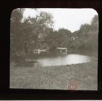 Image of [Rafts and boats, Prospect Park] - Adrian Vanderveer Martense collection