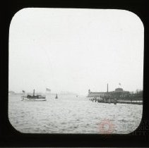 Image of [Boats by Battery] - Adrian Vanderveer Martense collection