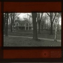 Image of [House and trees] - Adrian Vanderveer Martense collection
