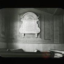 Image of [Reverend Thomas M. Strong Memorial, Flatbush Dutch Reformed Church] - Adrian Vanderveer Martense collection