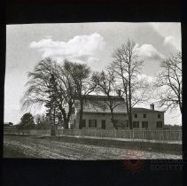 Image of [Farm house exterior] - Adrian Vanderveer Martense collection