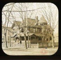 Image of [House exterior, Flatbush, Brooklyn] - Adrian Vanderveer Martense collection