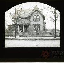 Image of [House, exterior] - Adrian Vanderveer Martense collection