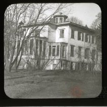 Image of [House, exterior, Flatbush, Brooklyn] - Adrian Vanderveer Martense collection