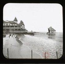 Image of Hotel Brighton, from Dixon's - After First Pull - Adrian Vanderveer Martense collection
