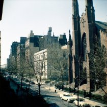 Image of [View of north side of Pierrepont Street looking west.] - John D. Morrell photographs