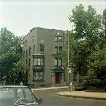 Image of [N.W. corner of Hicks Street.] - John D. Morrell photographs