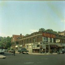 Image of [N.E. corner of East 18th Street and Kings Highway.] - John D. Morrell photographs