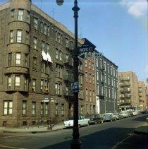 Image of [West side of Clinton Street.] - John D. Morrell photographs