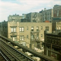 Image of [View from Brighton Beach BMT Station.] - John D. Morrell photographs