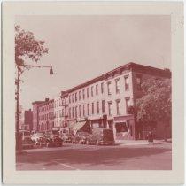 Image of [Northwest corner of DeKalb + Clermont Avenues.] - John D. Morrell photographs
